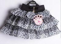 Wholesale NEW dress children cute skirtsautumn girls leopard short skirt