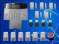 оптовых home alarm system-Сигнализация GSM SMS Главная охранной безопасности Детектор комплект датчиков дистанционного управления