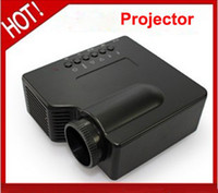 Wholesale Portable pocket Mini LED Projector with AV Digital w USB Mini LCD Portable Projector LZ A