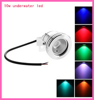 Wholesale Waterproof led underwater light W LM RGB Light LED Flood Lamp DC V IR remote control