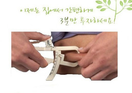 Wholesale Pop Keep Slim Body Fat Tester Measuremen Personal Body Fat Caliper Tester Accurate With Instructions