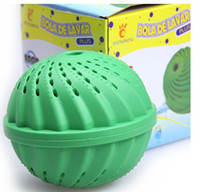 Wholesale magic washing ball laundry ball for whole sale and retail box