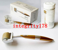 Retail ZGTS derma roller 192 titanium needles, Titanium allo...
