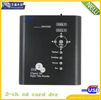 2 channel dvr - 2 channels DVR Mini Portable DVR ch mini SD CARD DVR