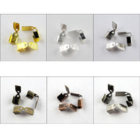 Spacers Chirstmas  YBB Wholesale End Cap for Leather Cord 4mm 51mm 7mm Gold Silver Bronze etc R330