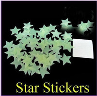 Wholesale ebay hot sale Home Glow wall In The Dark Star Stickers Decal Baby Kids Gift Nursery Room