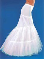 Wholesale 2013 White Mermaid PETTICOAT crinoline Underskirt petticoat