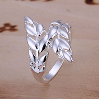 Wholesale Priced at direct Wheat Top sales Silver High quality Nobl fashion chearm Ring Gift Jewelry R119