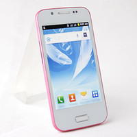 Wholesale MTK6515 A7100 MINI S3 I9300 Dual Core Dual Sim Quad Band WIFI Bluetooth Android inch Cell Phone
