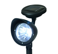 Wholesale New x Outdoor Garden Solar LED Spotlight Lamp Floor Landscape Spot Light led ground light