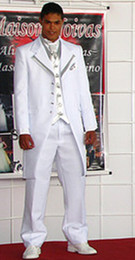 Wholesale 2012 Designer New White Men Dress Wedding Banquet Slim Suits Groom Marriage Suit Shops Online