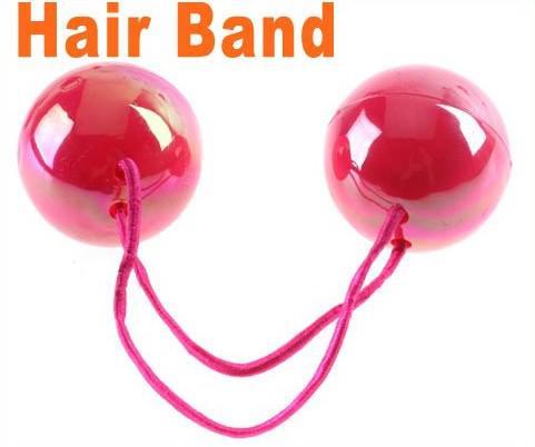 Fabric Elastic Hair Bands Cute Ball Elastic Hair Band