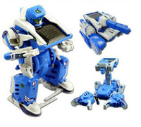Wholesale 3 in Educational Assembly Solar Toy Robot Tank Kit