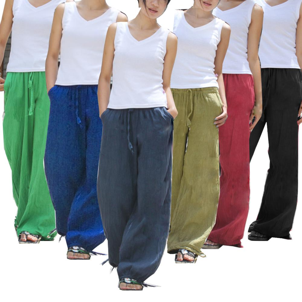 2017 100% Hand Made Harem Cotton Yoga Trouser Pants From Papaluda ...