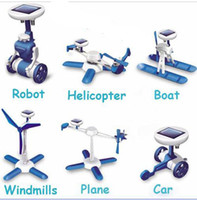 plastic windmill toy - Solar power in kit Toy DIY Educational Powered Toys kits Cars Robot Boat Helicopter Windmill Ai