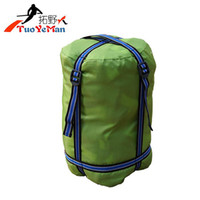 Wholesale Sleeping bag compression bag outdoor camping sleeping bag compression bags