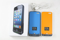 Wholesale Power Bank mah External Charger Backup Battery Cover Case for iphone With retail package