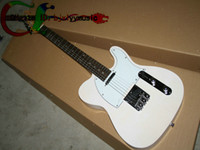 Solid Body basswood prices - New Arrival EMS TL white strings Electric Guitar sell in the lowest price