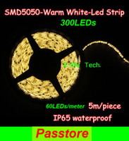 Wholesale LED Strip Tape Light M Leds SMD Led Strip Light Waterproof IP65 Cool Warm White Best Offer
