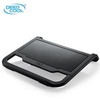 Cheap Double Fans laptop cooling Best Aluminum & Plastic Stock cooling pad