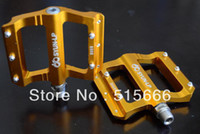 Wholesale SYUN B059_CNC Sealed Bearing_HQ Aluminum Alloy_Gold Color Bicycle pedals MTB Mountain Bike Part_we