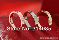 Wholesale 10pcs k gold plated ring love series rings eternal ring paris vintage love designer