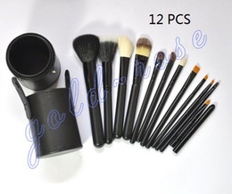 Wholesale HOT NEW Makeup brushes Professional Brush Brush barrels Black gift