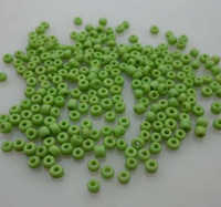 Wholesale 10000 mm Fruit Green Czech Glass Seed Beads Jewelry Making