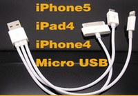 For 8pin 30pin iPhone 4G 4S 5G iPad Mini iPad 4G Micro USB S...