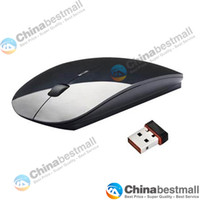 Wholesale Special Offer G Wireless mouse and mice super slim mouse Optical Mouse for PC Laptop Black