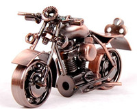 Wholesale Gift fashion Boy Toys Small Silver Metal Motorcycle iron crafts gift for Kids Factory Price Hot Sale