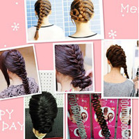 Wholesale French style favorable Braiding tool hair disk the plate sends Classic fashion hair style s tools