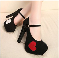 Wholesale 2013 Women New Heat shaped Suede Within Waterproof Thin heeled Shoes Lady Fahion Nightcup Shoes