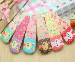Wholesale Lovely happy bunny BB clamp hair clip color