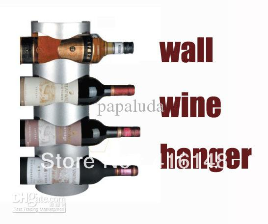Wine Bottle Wall Rack a Wall Mount 4 Wine Bottle