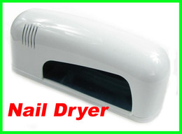Wholesale Best price w White Professional Nail Art Gel CURING UV Lamp Led Light Nail Dryer