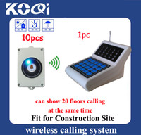 Wholesale Wireless Elevator Call Button System for Construct Site easy to install shipping free