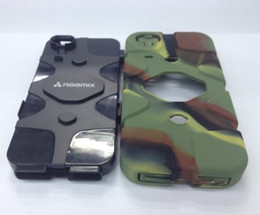 Wholesale dustproof Armored Vehicle Case RGBmix Armored Car Case for iphone S Extrem Protective Cover