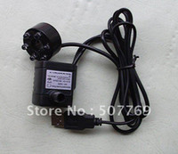 ac submersible water pump - USB plug DC V Submersible Pump Water Fountain Pond Aquarium LED Switcher Fish tank DIY