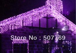 8m*1m LEDs lights flashing lane LED String lamps curtain icicle Christmas home garden festival lights 110v-220v