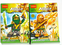 Wholesale Decool Ninjago Golden Ninja Green Ninja ZX Building Block Sets Educational Bricks toys