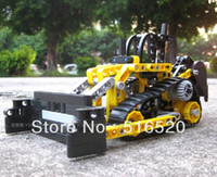 Wholesale Decool Exploiter Bulldozer Building Blocks Sets Educational DIY Construction Bricks toys