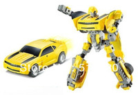 Wholesale Kazi Robot Bumblebee Building Block Sets Educational DIY Construction Brick toy