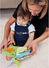 Wholesale treetop friends soft activity book treetop friends collection baby cloth book study books