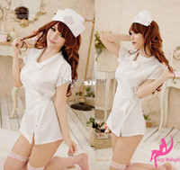 Wholesale Sexy Costumes nurse role play clothes concert attire nurse uniform hat G string