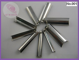 Wholesale Metal Nail Cutter Edge Smile Line Trimmer Template Q French