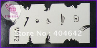 Wholesale AIRBRUSH STENCILS Nail Art Paint for Air Brush Tool