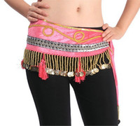Sequin free size (medium) Women Belly dance clothing women costumes wear new dancing wear hip scarf tribal belt skirt accessories