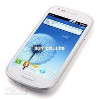 Wholesale S8190 MIMI S3 I9300 Andoird inch Capacitive Smart Cell phone Dual SIM Dual Camera WIFI GPS
