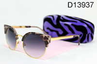 2013 new polarizing sunglasses female gradient butterfly typ...